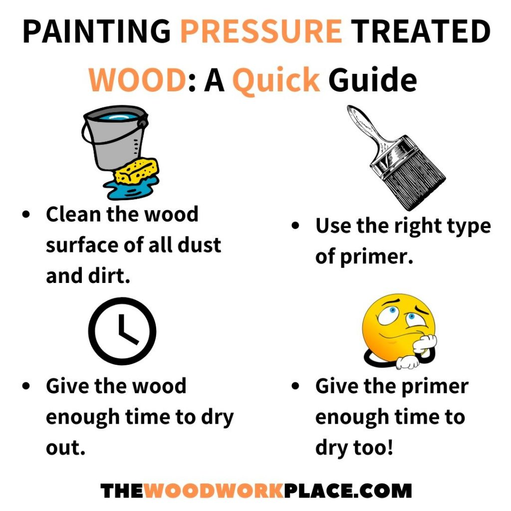 Woodworking 101 Can You Paint Pressure Treated Wood