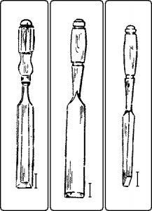 IMAGE OF PARING CHISEL