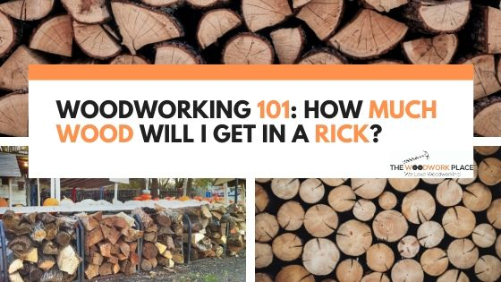 how much wood in a rick
