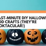 13 Last-Minute DIY Halloween Wood Crafts (They're Spooktacular!)