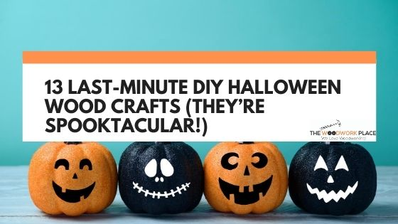 diy halloween wood crafts