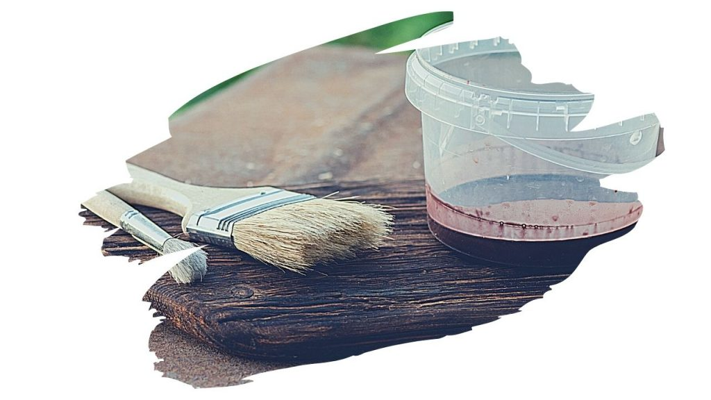 can you paint over danish oil