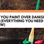 Can You Paint Over Danish Oil? (Everything You Need To Know)