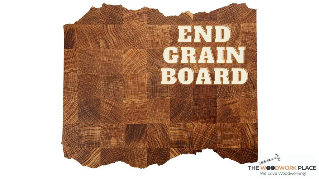 IMAGE OF END GRAIN CUTTING BOARD