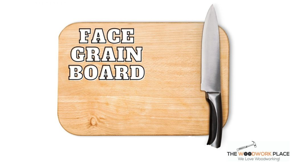 IMAGE OF FACE GRAIN CUTTING BOARD