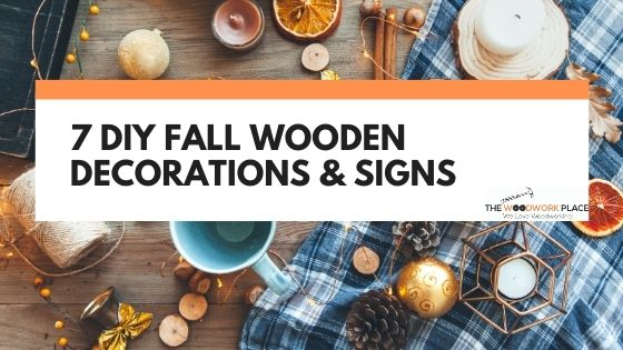 fall wooden signs