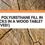 Will Polyurethane Fill In Cracks In A Wood Table? (Solved!)