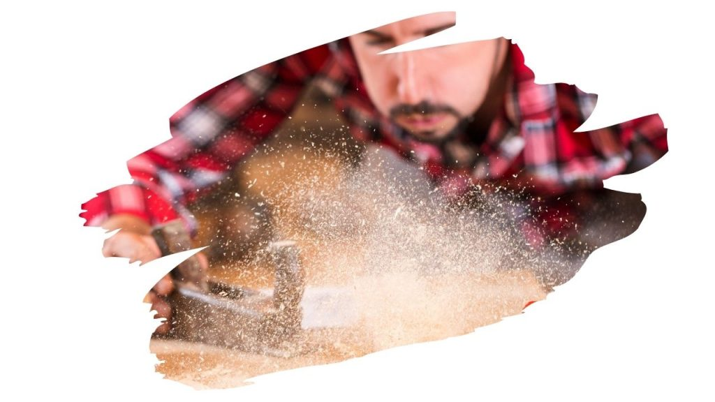 how to remove sawdust from clothes