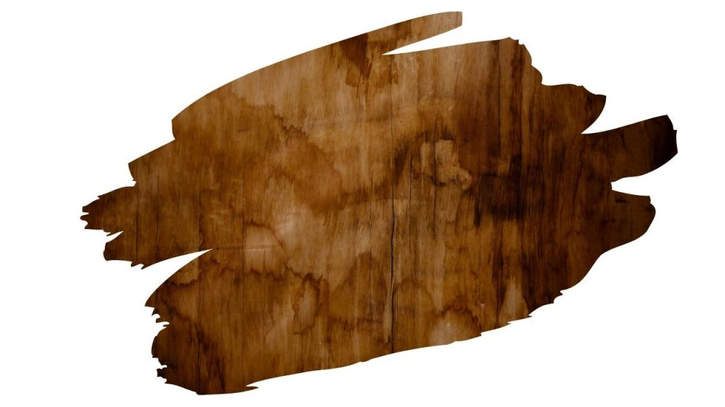 staining over wood filler gives blotchy results